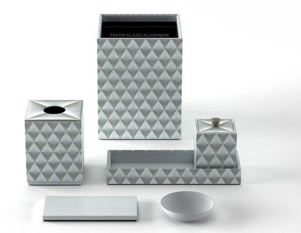 Bathroom accessories_stitched padded lm silver metallic-614-xxx_q85