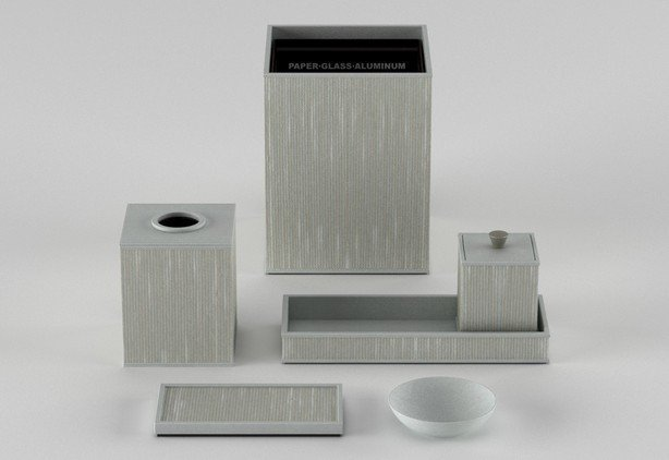 Bathroom accessories_woven leather match_silver-614-xxx_q85
