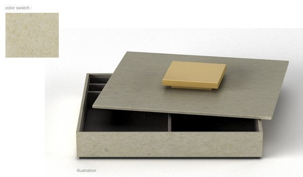 Stationery box warm gray w-gold and black-614-xxx_q85
